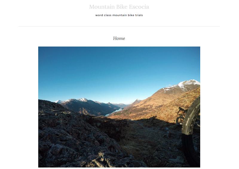 Mountain Bike Scocia